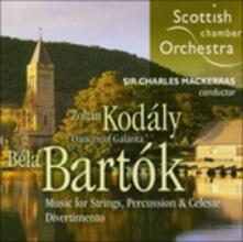 Musica per archi e percussioni (Multicanale) - SuperAudio CD ibrido di Bela Bartok