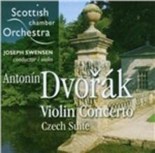 Concerto per violino - SuperAudio CD ibrido di Antonin Dvorak