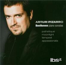 Sonate per pianoforte n.8, n.13, n.14 - SuperAudio CD ibrido di Ludwig van Beethoven,Artur Pizarro