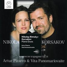 Piano Duos - CD Audio di Nikolai Rimsky-Korsakov