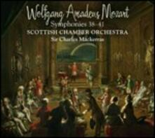Le ultime sinfonie - SuperAudio CD ibrido di Wolfgang Amadeus Mozart,Sir Charles Mackerras,Scottish Chamber Orchestra
