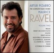 Opere per pianoforte vol.2 - SuperAudio CD ibrido di Maurice Ravel,Artur Pizarro