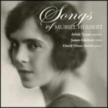 Opere per voce e pianoforte - CD Audio di Muriel Herbert