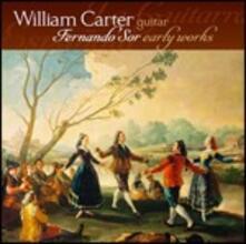 Opere giovanili per chitarra - SuperAudio CD ibrido di Joseph Fernando Macari Sor,William Carter