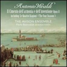 Il cimento dell'armonia e dell'invenzione - SuperAudio CD ibrido di Antonio Vivaldi,Pavlo Beznosiuk,Avison Ensemble