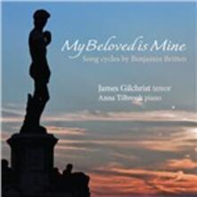 Arie per tenore e pianoforte - SuperAudio CD ibrido di Benjamin Britten,James Gilchrist