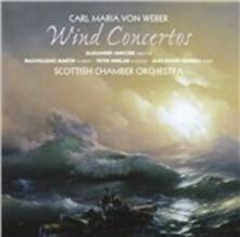 Concerti per fiati - SuperAudio CD ibrido di Carl Maria Von Weber,Scottish Chamber Orchestra
