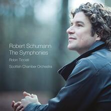 Sinfonie integrali - CD Audio di Robert Schumann,Robin Ticciati