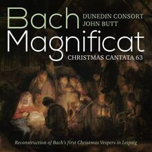 Magnificat BWV 243a - Cantata BWV 63 - SuperAudio CD ibrido di Johann Sebastian Bach,John Butt