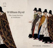 The Great Service & Anthems - CD Audio di William Byrd