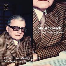 Gli ultimi tre quartetti per archi (50th Anniversary Recording) - CD Audio di Dmitri Shostakovich,Fitzwilliam String Quartet