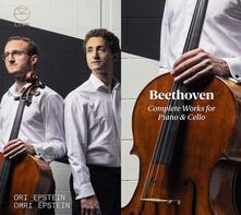Composizioni complete per pianoforte e violoncello - CD Audio di Ludwig van Beethoven,Ori Epstein,Omri Epstein