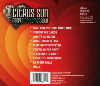 People of Tomorrow - CD Audio di Citrus Sun - 2