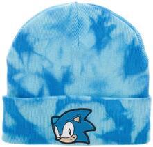 Sonic The Hedgehog Tie Dye Knit Beanie