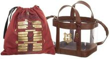 Harry Potter Clear Tote Bag With Cinch Bag