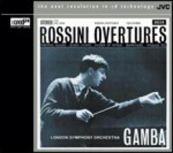 Ouvertures - XRCD di Gioachino Rossini,London Symphony Orchestra,Piero Gamba