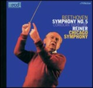 Sinfonia n.5 - Ouverture Corioliano - XRCD di Ludwig van Beethoven,Fritz Reiner,Chicago Symphony Orchestra