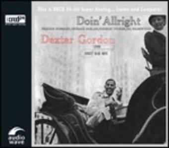 Doin' Allright - XRCD di Dexter Gordon