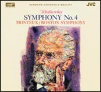 Sinfonia n.4 - XRCD di Pyotr Il'yich Tchaikovsky,Pierre Monteux,Boston Symphony Orchestra