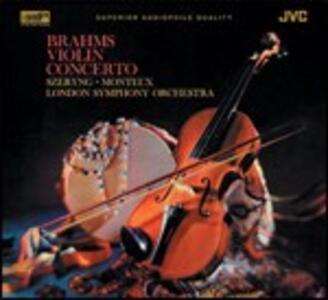 Concerto per violino - XRCD di Johannes Brahms,Pierre Monteux,London Symphony Orchestra,Henryk Szeryng