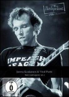 Jorma Kaukonen And Vital Parts. Rockpalast. West Coast Legends. Vol. 2 - DVD