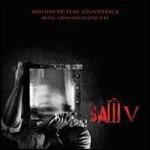 Cover CD Colonna sonora Saw V