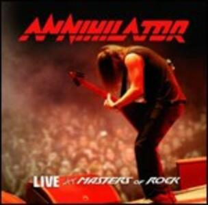 Live at Masters of Rock - CD Audio di Annihilator