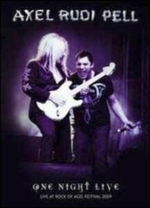 Axel Rudi Pell. One Night Live - DVD