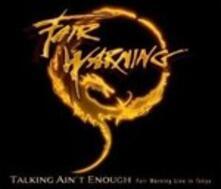 Talking Ain't Enough. Fair Warning Live in Tokio - CD Audio + DVD di Fair Warning