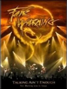 Fair Warning. Talking Ain't Enough (2 DVD) - DVD