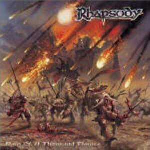 Rain of a Thousand Flames - CD Audio di Rhapsody