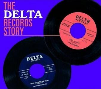 The Delta Records Story - CD Audio