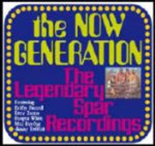 The Legendary Spar Recording - CD Audio di Now Generation