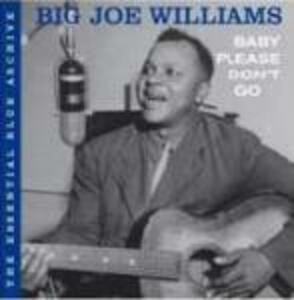 Baby Please Don't Go - CD Audio di Big Joe Williams