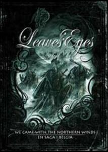 Leaves' Eyes. We Came With The Northern Winds - En Saga I Belgia (2 DVD) - DVD