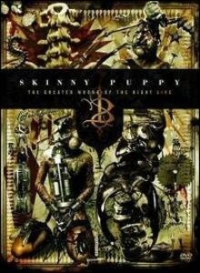 Film Skinny Puppy. The Greater Wrong of the Right. Live