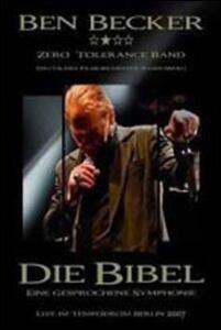 Ben Becker. Die Bible - DVD