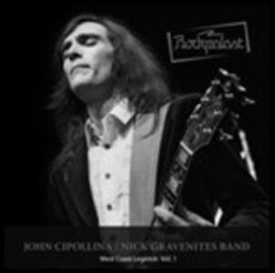 West Coast Legends vol.1 - CD Audio di John Cipollina