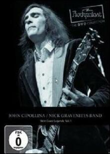 John Cipollina and Nick Gravenites Band. Rockpalast. West Coast Legends. Vol. 1 - DVD