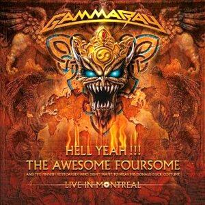 Hell Yeah - The Awesome Foursome - CD Audio di Gamma Ray