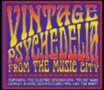 Vintage Psychedelia from the Music City - CD Audio