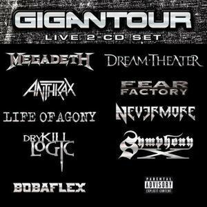 Gigantour - CD Audio