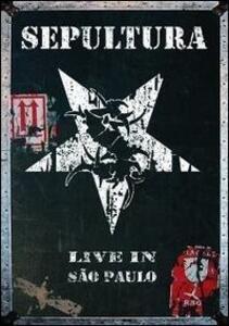 Sepultura. Live in Saõ Paulo (2 DVD) - DVD