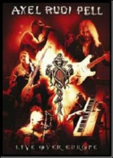 Axel Rudi Pell. Live Over Europe (2 DVD) - DVD