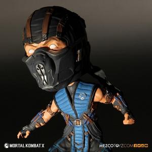 Giocattolo Statua Bobble Head Sub-Zero MK X Mezco Toys 1