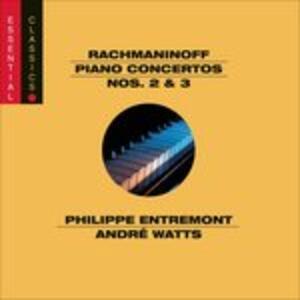Piano Ctos 2 and 3 - CD Audio di Sergej Vasilevich Rachmaninov