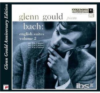 English Suites 4 5 & 6.. - CD Audio di Johann Sebastian Bach,Glenn Gould