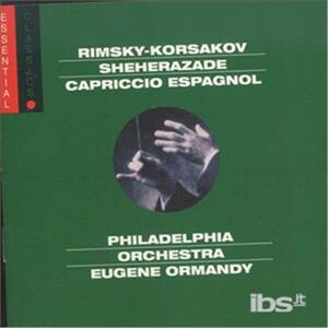 Sheherazade - Russian - CD Audio di Nikolai Rimsky-Korsakov