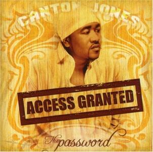 The Password Access Granted - CD Audio di Canton Jones