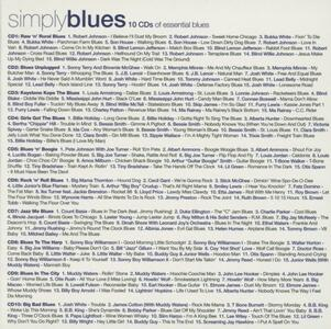 Simply Blues - CD Audio - 2